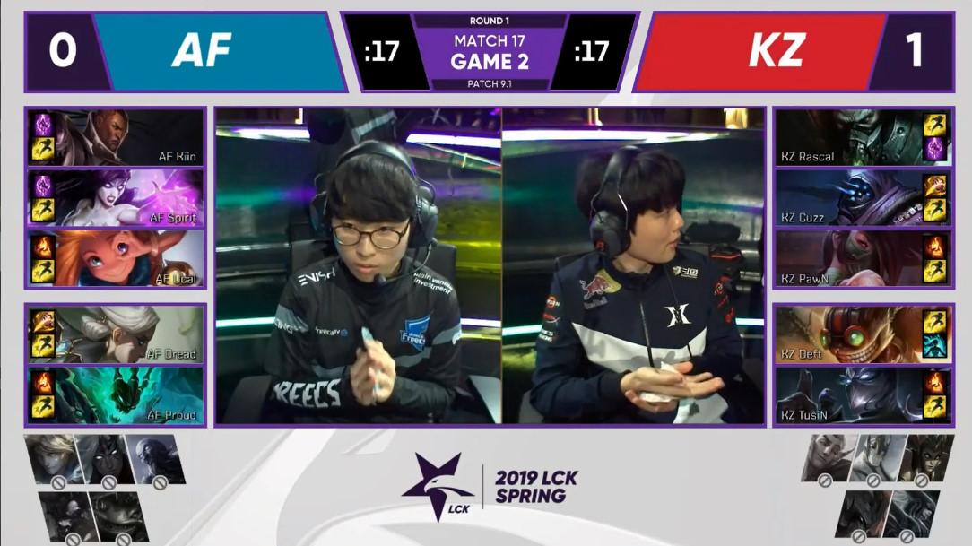 【战报】KZ稳定发挥 延续胜利之势以2-0拿下很终胜利